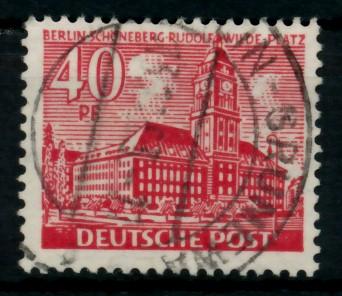 BERLIN DS BAUTEN 1 Nr 52 gestempelt 6E0DAA