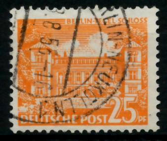 BERLIN DS BAUTEN 1 Nr 50 gestempelt 6E0E4A