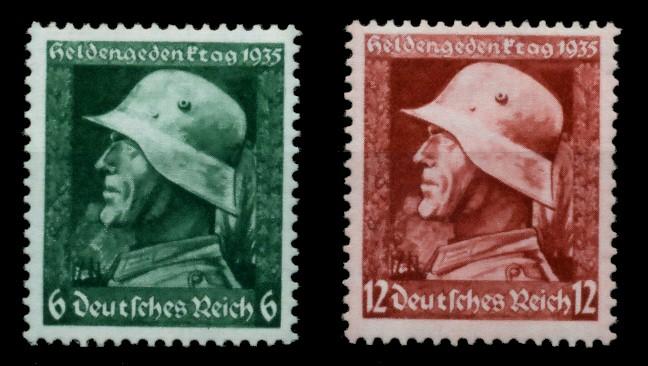 3. REICH 1935 Nr 569y-570y postfrisch 6E2F02