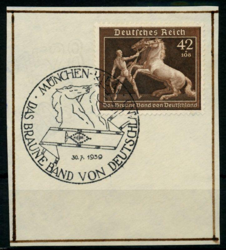 3. REICH 1939 Nr 699 zentrisch gestempelt Briefst³ck 6E2F8A