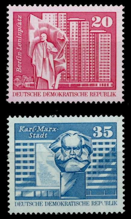 DDR 1973 Nr 1820-1821 postfrisch 6707DE