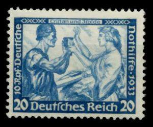 3. REICH 1933 Nr 505A ungebraucht 6E8DA2