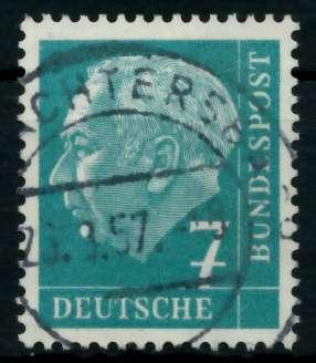 BRD DS HEUSS 1 Nr 181 zentrisch gestempelt 6ED79A