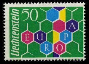 LIECHTENSTEIN 1960 Nr 398I postfrisch 6F6876