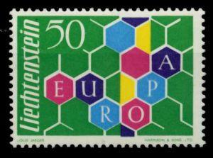 LIECHTENSTEIN 1960 Nr 398I postfrisch 6F6882