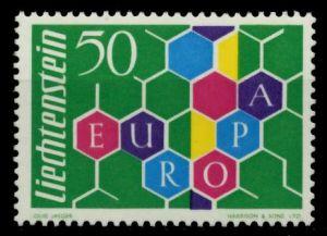 LIECHTENSTEIN 1960 Nr 398I postfrisch 6F6892