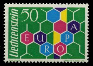LIECHTENSTEIN 1960 Nr 398I postfrisch 6F689A