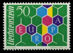 LIECHTENSTEIN 1960 Nr 398I postfrisch 6F689E