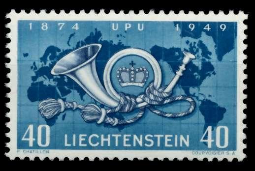 LIECHTENSTEIN 1949 Nr 277 postfrisch 6F6B32