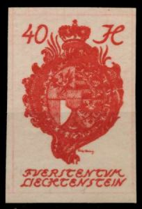 LIECHTENSTEIN 1920 Nr 23 postfrisch 6FBE3E