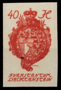 LIECHTENSTEIN 1920 Nr 23 postfrisch 6FBE5A