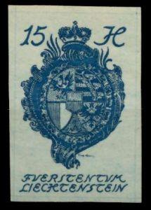 LIECHTENSTEIN 1920 Nr 19 postfrisch 6FBE8A