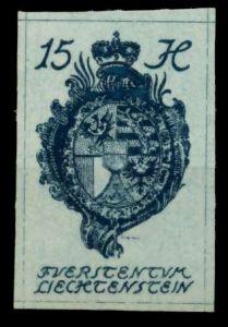 LIECHTENSTEIN 1920 Nr 19 postfrisch 6FBE9A