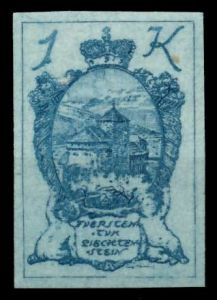 LIECHTENSTEIN 1920 Nr 24 postfrisch 6FBEBE