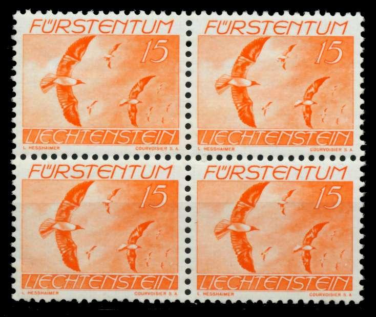 LIECHTENSTEIN 1939 Nr 174 postfrisch VIERERBLOCK 6FE3FE