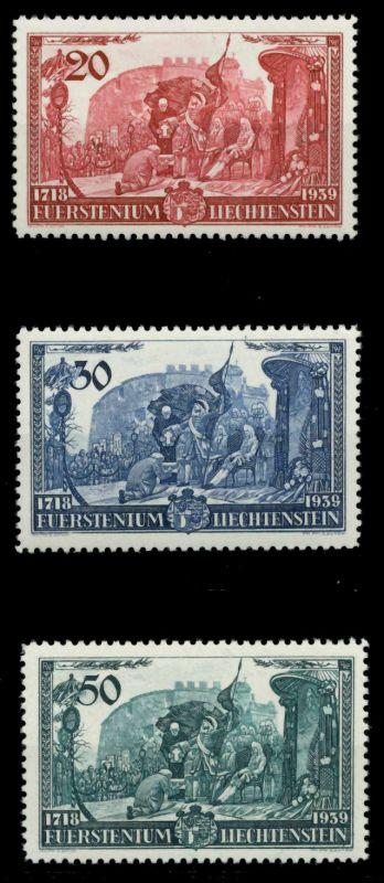 LIECHTENSTEIN 1939 Nr 180-182 postfrisch 6FE442