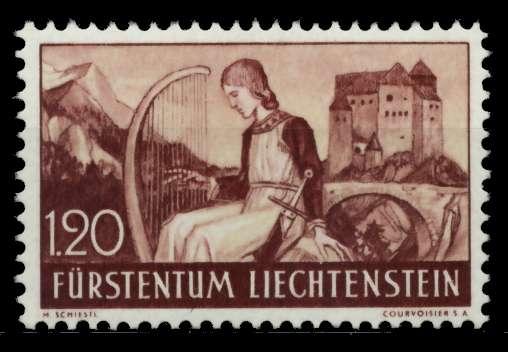 LIECHTENSTEIN 1937 Nr 168 postfrisch 70005E