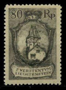 LIECHTENSTEIN 1921 Nr 59B ungebraucht 700146