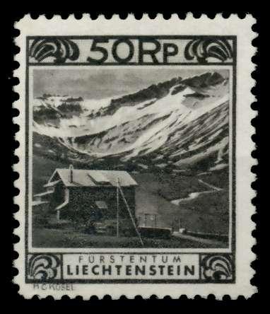 LIECHTENSTEIN 1930 Nr 102-C ungebraucht 700156