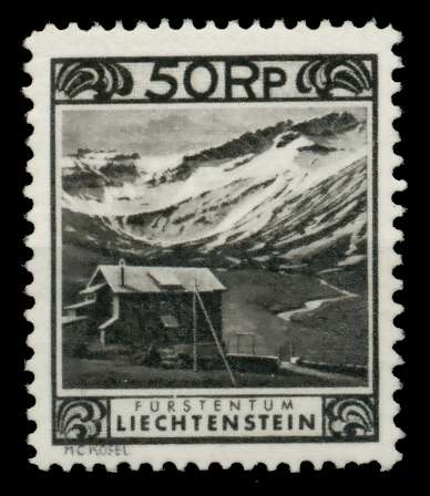 LIECHTENSTEIN 1930 Nr 102-C ungebraucht 700166