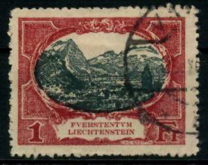 LIECHTENSTEIN 1921 Nr 60A gestempelt 70016E