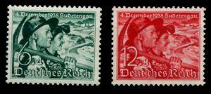 3. REICH 1938 Nr 684y-685 postfrisch 700196