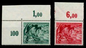 3. REICH 1938 Nr 684y-685 postfrisch ORA 7001AA
