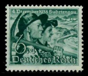 3. REICH 1938 Nr 684y postfrisch 7001AE