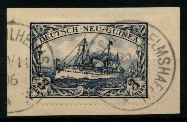 DNG Nr 18 zentrisch gestempelt Briefst³ck gepr. 702F66