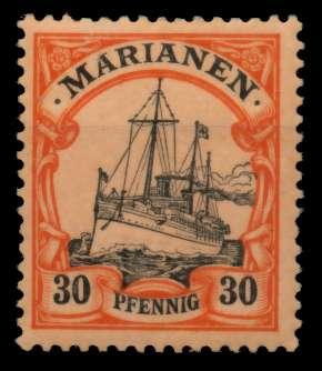 MARIANEN Nr 12 ungebraucht 7030D2
