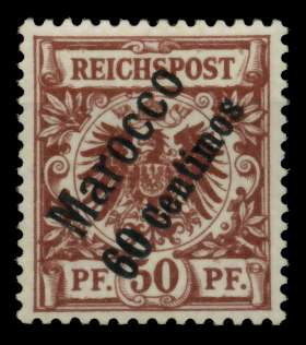 DAP MAROKKO Nr 6 postfrisch gepr. 705956