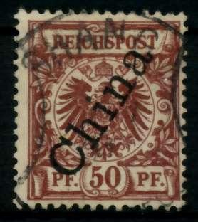 DAP CHINA Nr 6II zentrisch gestempelt 705C82