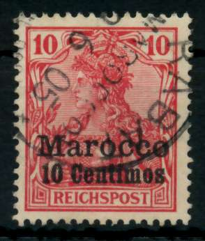 DAP MAROKKO Nr 9 gestempelt 707862