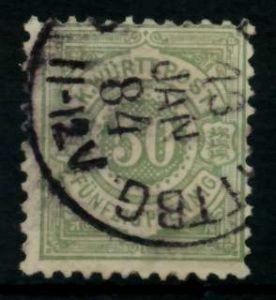 WÜRTTEMBERG Nr 51 gestempelt 71381A