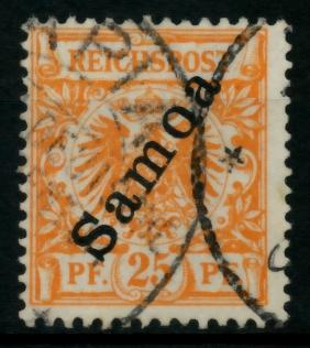 SAMOA Nr 5a gestempelt gepr. 713C36
