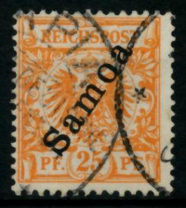 SAMOA (DT. KOLONIE) Nr 5a gestempelt gepr. 713C36