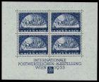 ÖSTERR. 1933 WIPA BLOCK 1 postfrisch Block1 716602
