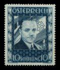 ÖSTERR. 1934 Nr 588 postfrisch DOLLFUSS 7165F6