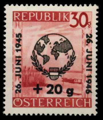ÖSTERREICH 1946 Nr 771x postfrisch 7166FE