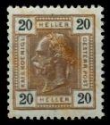ÖSTERREICH 1867 07 Nr 111A ungebraucht 7169E6