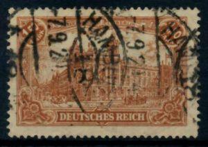 D-REICH INFLA Nr 114a gestempelt gepr. 71BA72