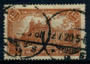 D-REICH INFLA Nr 114a gestempelt gepr. 71BA96