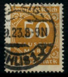 D-REICH INFLA Nr 275a gestempelt gepr. 72471E