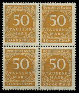 D-REICH INFLA Nr 275a postfrisch VIERERBLOCK 724846
