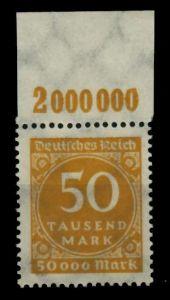 D-REICH INFLA Nr 275a P OR postfrisch ORA 72486A