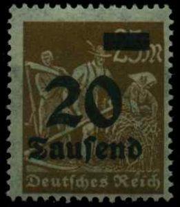 D-REICH INFLA Nr 281 postfrisch S26C6DE