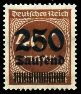 D-REICH INFLA Nr 294 postfrisch S26C736