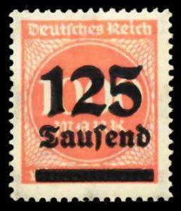 D-REICH INFLA Nr 291a postfrisch S26C712