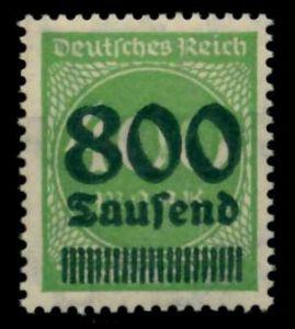 D-REICH INFLA Nr 306A postfrisch 724A3E