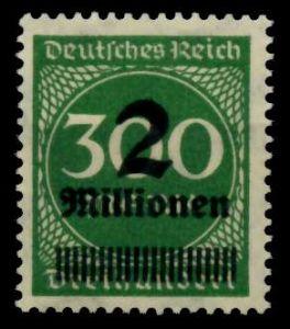 D-REICH INFLA Nr 310A postfrisch 724A56